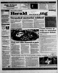 New Braunfels Herald Zeitung, February 04, 1996, Page 1