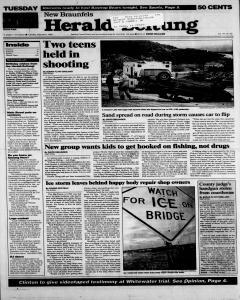 New Braunfels Herald Zeitung, February 06, 1996, Page 1