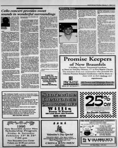 New Braunfels Herald Zeitung, February 11, 1996, Page 11