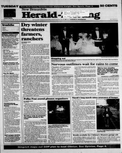 New Braunfels Herald Zeitung, February 20, 1996, Page 1