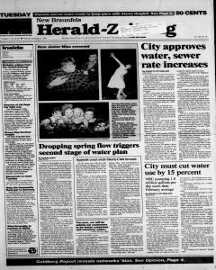 New Braunfels Herald Zeitung, February 27, 1996, Page 1