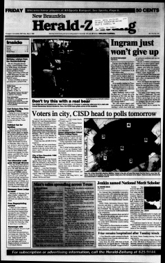 New Braunfels Herald Zeitung, May 03, 1996, Page 1