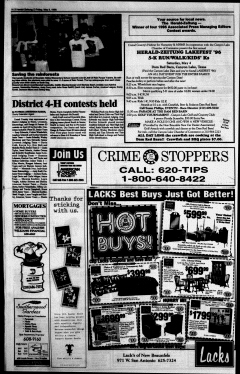 New Braunfels Herald Zeitung, May 03, 1996, Page 16