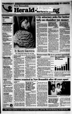New Braunfels Herald Zeitung, May 09, 1996, Page 1