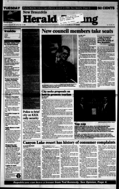 New Braunfels Herald Zeitung, May 14, 1996, Page 1