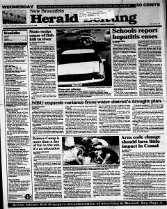 New Braunfels Herald Zeitung, May 15, 1996, Page 1