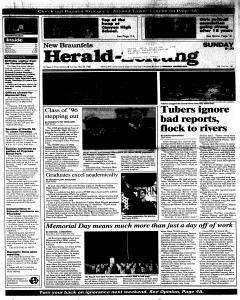 New Braunfels Herald Zeitung, May 26, 1996, Page 1