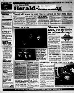 New Braunfels Herald Zeitung, May 28, 1996, Page 1