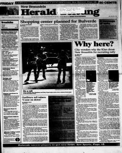 New Braunfels Herald Zeitung, May 31, 1996, Page 1