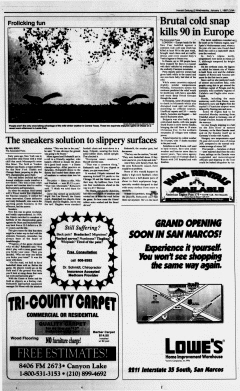 New Braunfels Herald Zeitung, January 01, 1997, Page 11