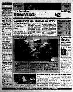 New Braunfels Herald Zeitung, January 12, 1997, Page 1