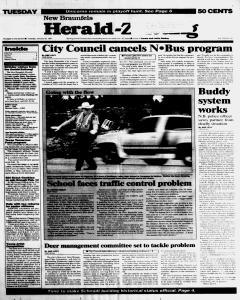 New Braunfels Herald Zeitung, January 28, 1997, Page 1