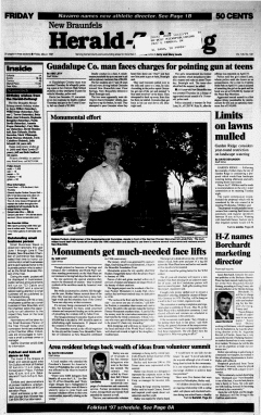 New Braunfels Herald Zeitung, May 02, 1997, Page 1