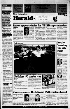 New Braunfels Herald Zeitung, May 04, 1997, Page 1