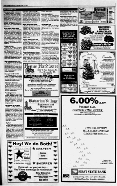 New Braunfels Herald Zeitung, May 04, 1997, Page 15