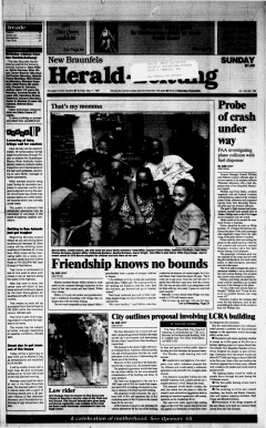 New Braunfels Herald Zeitung, May 11, 1997, Page 1