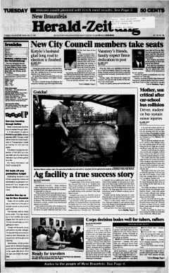 New Braunfels Herald Zeitung, May 13, 1997, Page 1