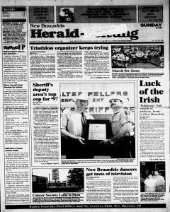 New Braunfels Herald Zeitung, May 18, 1997, Page 1