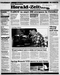 New Braunfels Herald Zeitung, May 22, 1997, Page 1