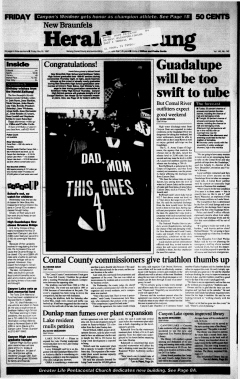 New Braunfels Herald Zeitung, May 30, 1997, Page 1