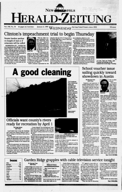 New Braunfels Herald Zeitung, January 06, 1999, Page 1