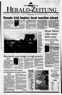 New Braunfels Herald Zeitung, January 08, 1999, Page 1