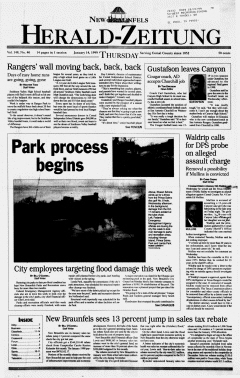 New Braunfels Herald Zeitung, January 14, 1999, Page 1
