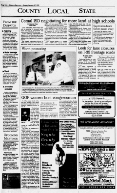 New Braunfels Herald Zeitung, January 17, 1999, Page 4