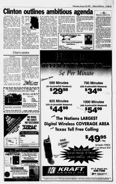 New Braunfels Herald Zeitung, January 20, 1999, Page 3
