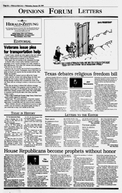 New Braunfels Herald Zeitung, January 20, 1999, Page 6
