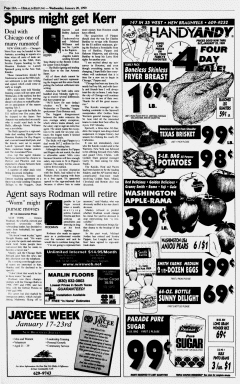 New Braunfels Herald Zeitung, January 20, 1999, Page 10