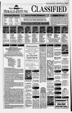 New Braunfels Herald Zeitung, January 22, 1999, Page 15