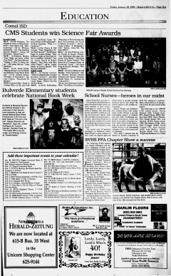 New Braunfels Herald Zeitung, January 29, 1999, Page 11