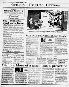 New Braunfels Herald Zeitung, February 10, 1999, Page 6