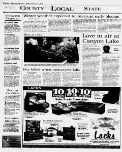 New Braunfels Herald Zeitung, February 12, 1999, Page 4