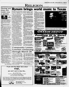 New Braunfels Herald Zeitung, February 26, 1999, Page 9
