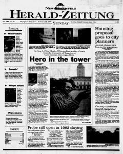 New Braunfels Herald Zeitung, February 28, 1999, Page 1