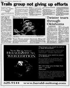 New Braunfels Herald Zeitung, May 04, 1999, Page 8