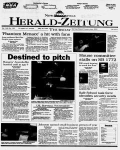 New Braunfels Herald Zeitung, May 20, 1999, Page 1