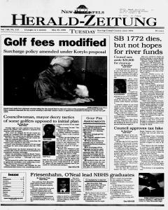 New Braunfels Herald Zeitung, May 25, 1999, Page 1