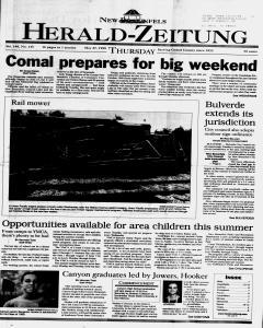 New Braunfels Herald Zeitung, May 27, 1999, Page 1