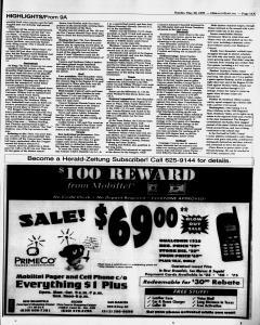 New Braunfels Herald Zeitung, May 30, 1999, Page 11
