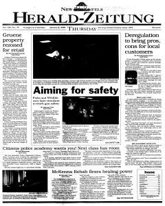 New Braunfels Herald Zeitung, January 06, 2000, Page 1