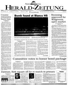 New Braunfels Herald Zeitung, January 11, 2000, Page 1