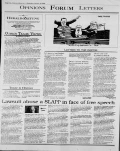 New Braunfels Herald Zeitung, January 19, 2000, Page 6