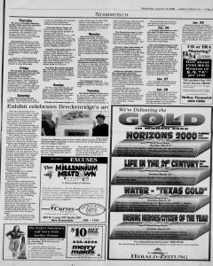 New Braunfels Herald Zeitung, January 19, 2000, Page 11
