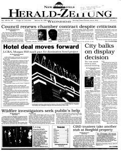 New Braunfels Herald Zeitung, January 26, 2000, Page 1