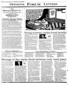New Braunfels Herald Zeitung, January 26, 2000, Page 6