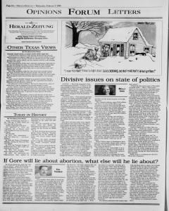 New Braunfels Herald Zeitung, February 02, 2000, Page 6