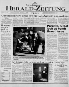 New Braunfels Herald Zeitung, February 04, 2000, Page 1